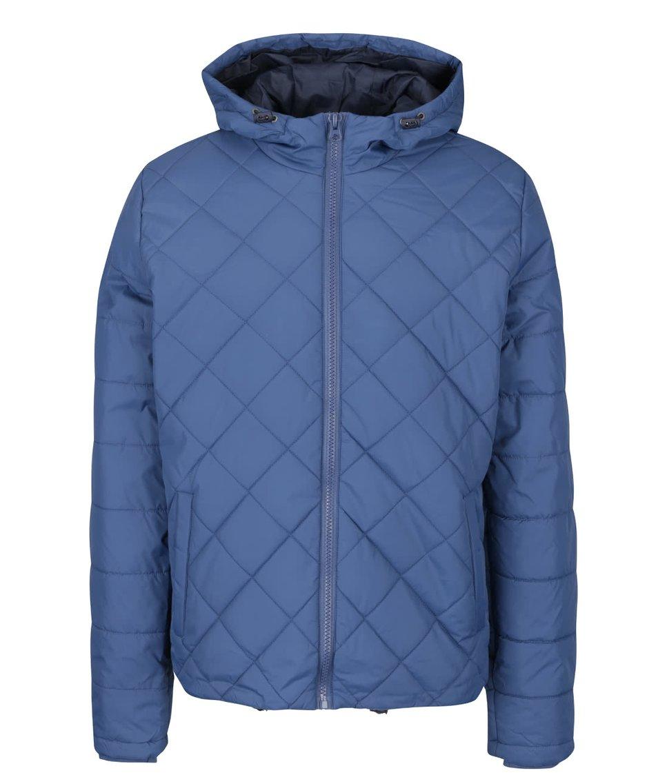 Modrá prošívaná bunda Blend