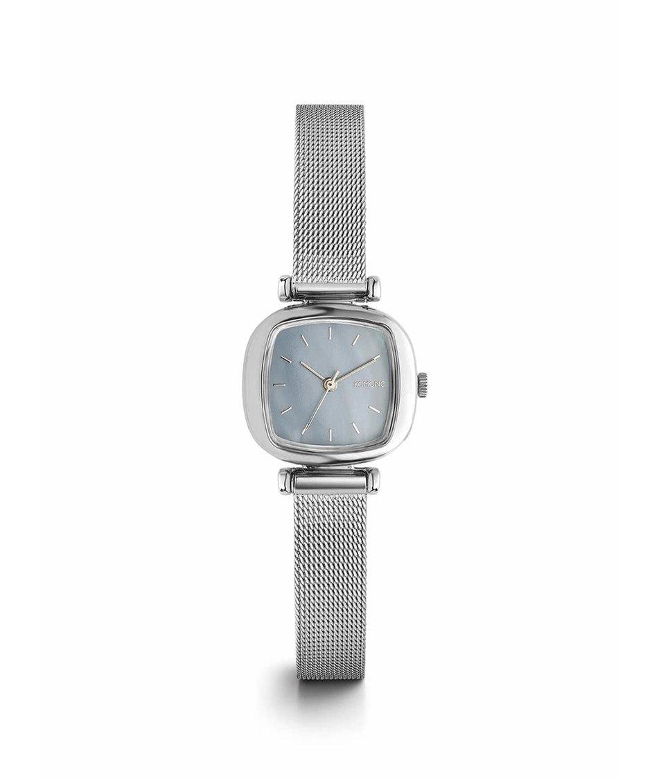 Dámské hodinky ve stříbrné barvě Komono Moneypenny Royale