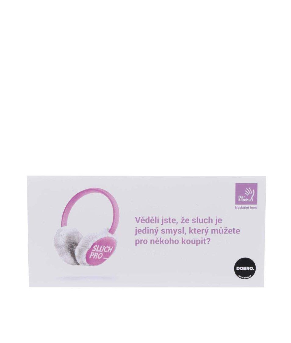Poukázka na sluch v hodnotě 300 Kč