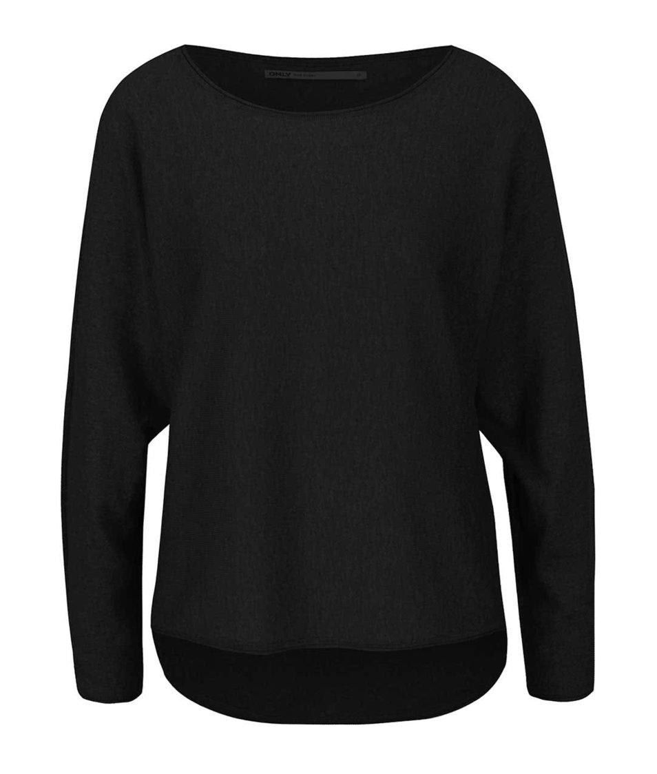 Černý lehký svetr ONLY Anita