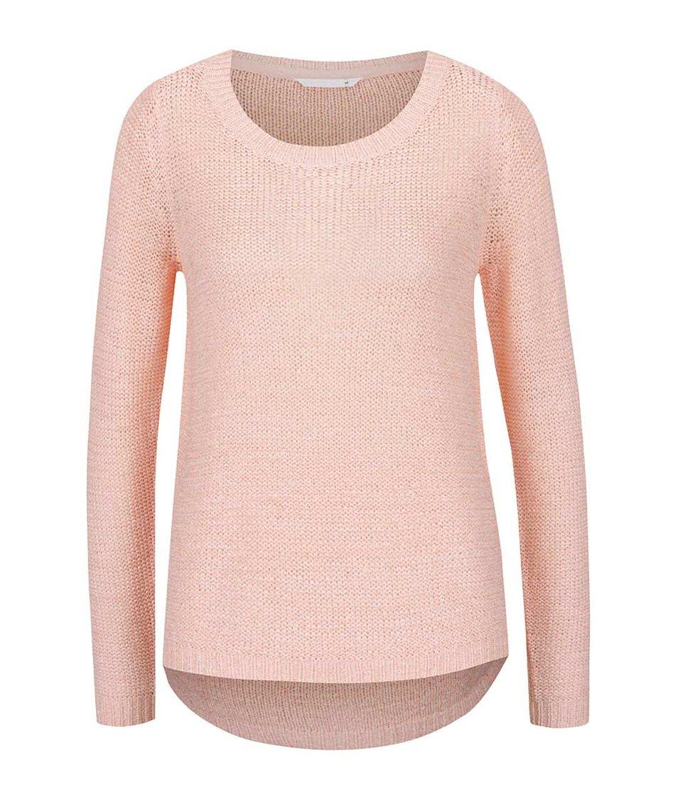 Světle růžový svetr ONLY Geena
