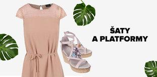 Šaty a platformy