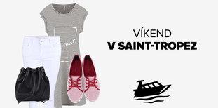Víkend v Saint-Tropez: Co si oblékne ONA