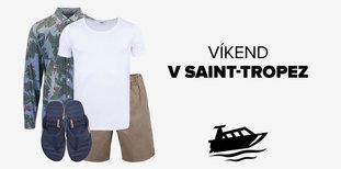 Víkend v Saint-Tropez: Co si oblékne ON