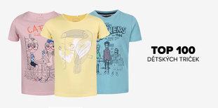 TOP 100 dětských triček