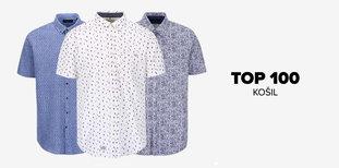 TOP 100 pánských košil