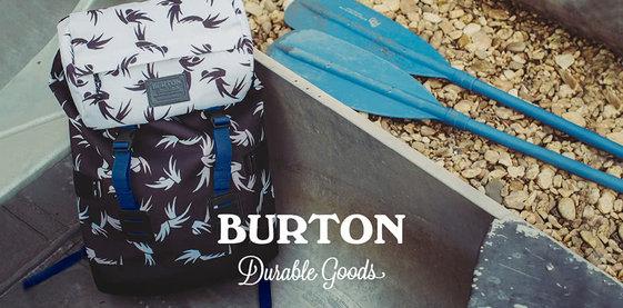 Burton: Život na zádech