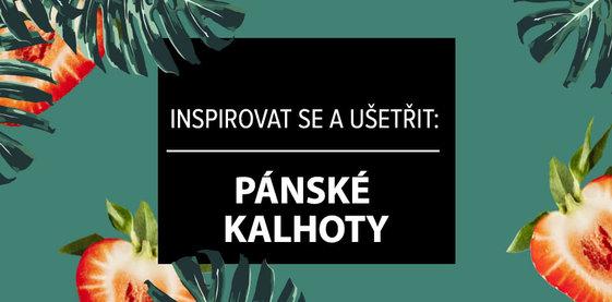Inspirovat se a ušetřit: Pánské kalhoty