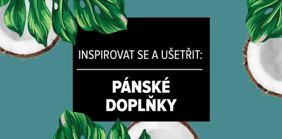 Inspirovat se a ušetřit: Pánské doplňky