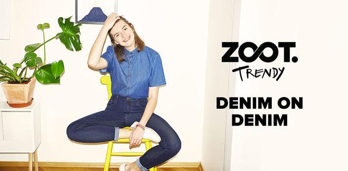 ZOOT Trendy: Denim on Denim