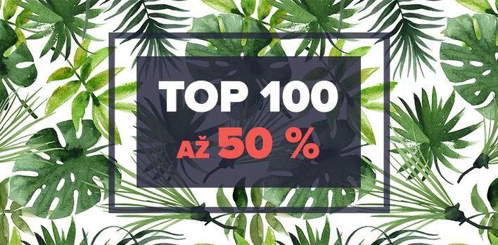 TOP 100 kousků se slevou 40 až 50 %