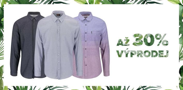 Letní výprodej: Košile pro NĚJ s až 30% slevou