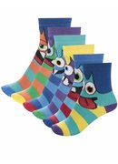 Set 6 șosete multicolore Oddsocks Mini