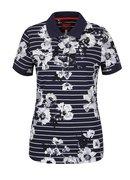 Tmavě modré dámské pruhované polo tričko Tom Joule