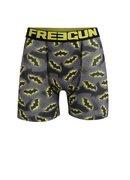 Čierno-sivé pánske boxerky Batman Freegun