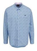 Světle modrá květovaná košile Raging Bull