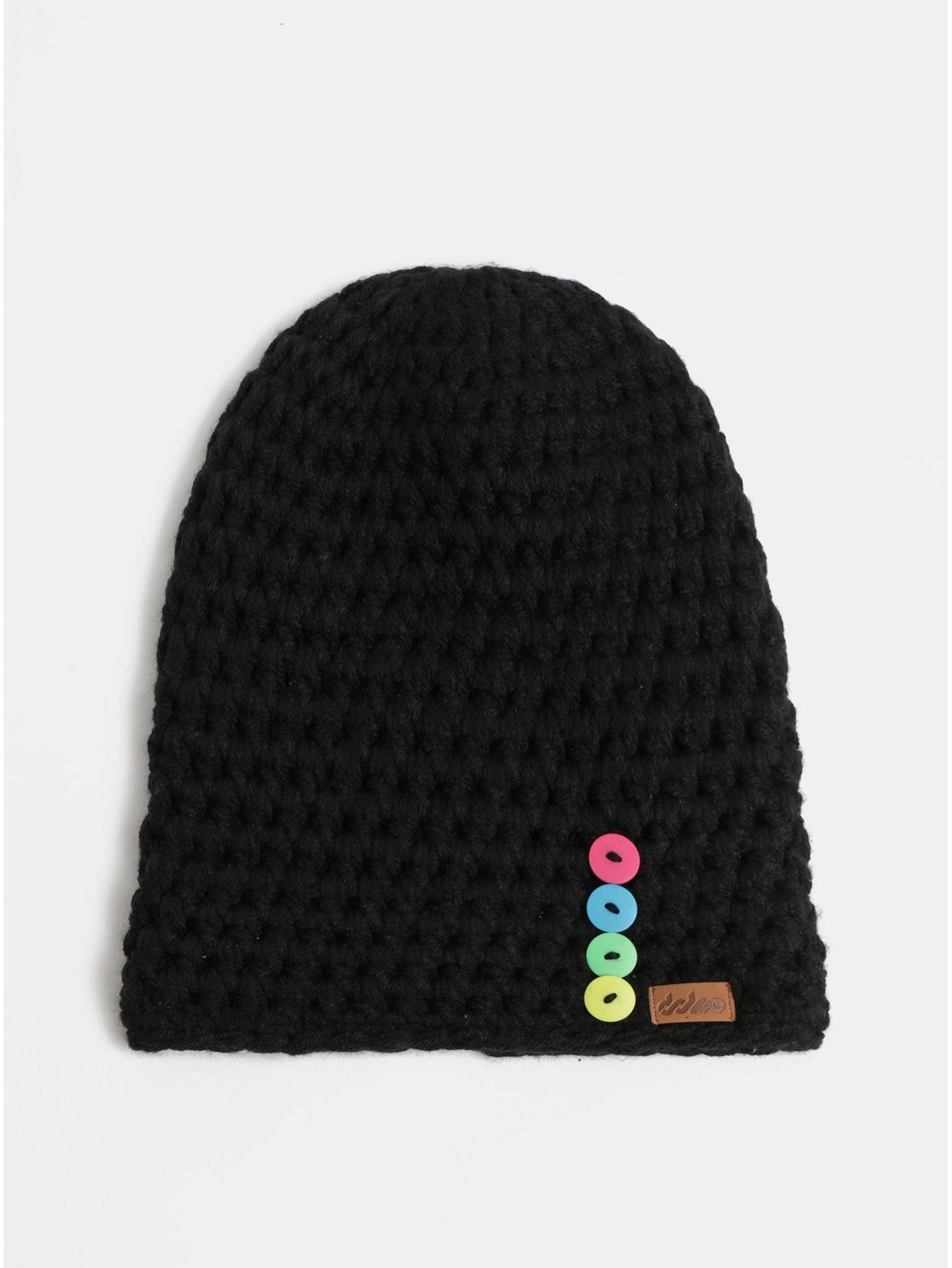 41018ab46 Cierna pletena zimna ciapky | Stojizato.sme.sk