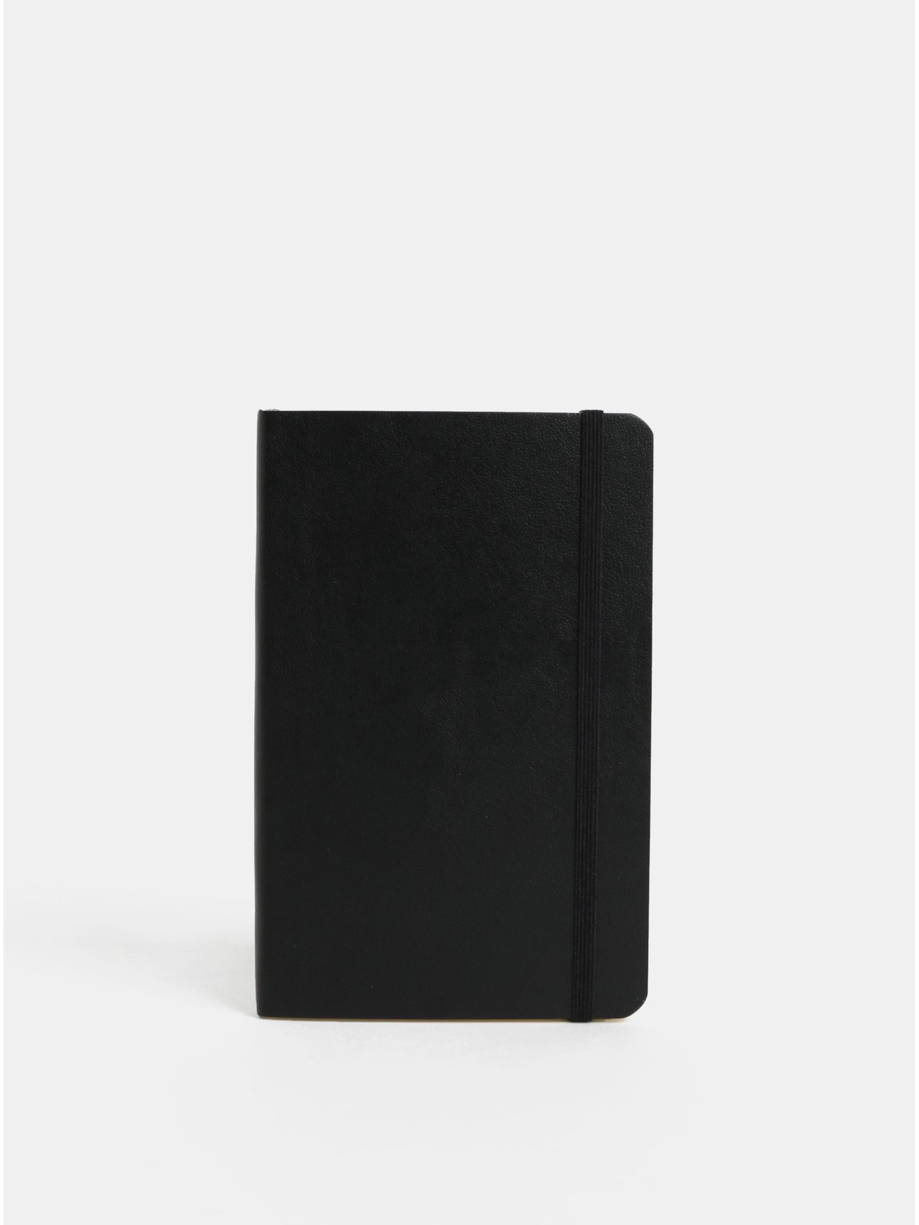 Černý linkovaný mini zápisník s měkkou vazbou Moleskine A6