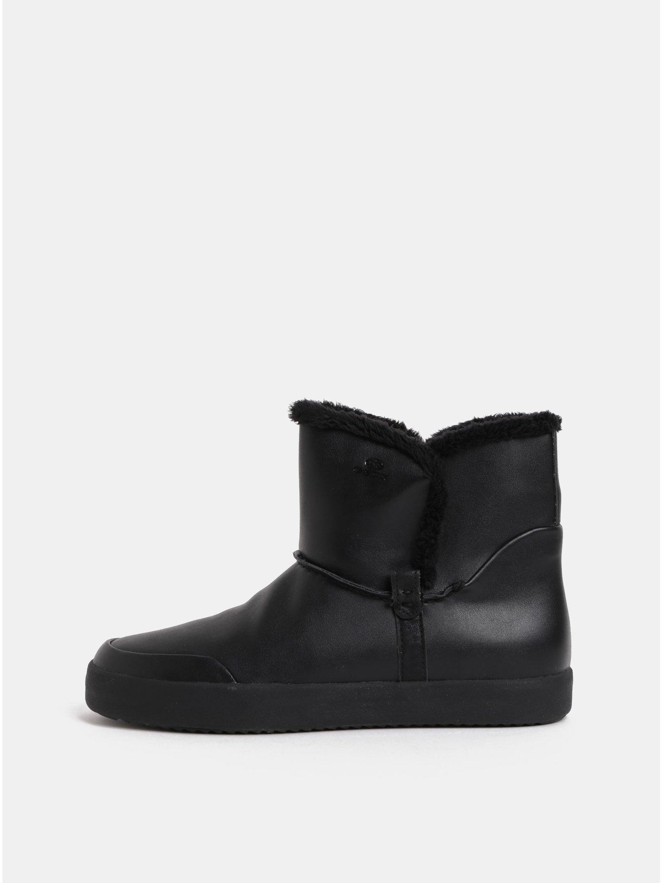 Čierne dámske zimné členkové topánky Geox Blomiee 34db145f52c