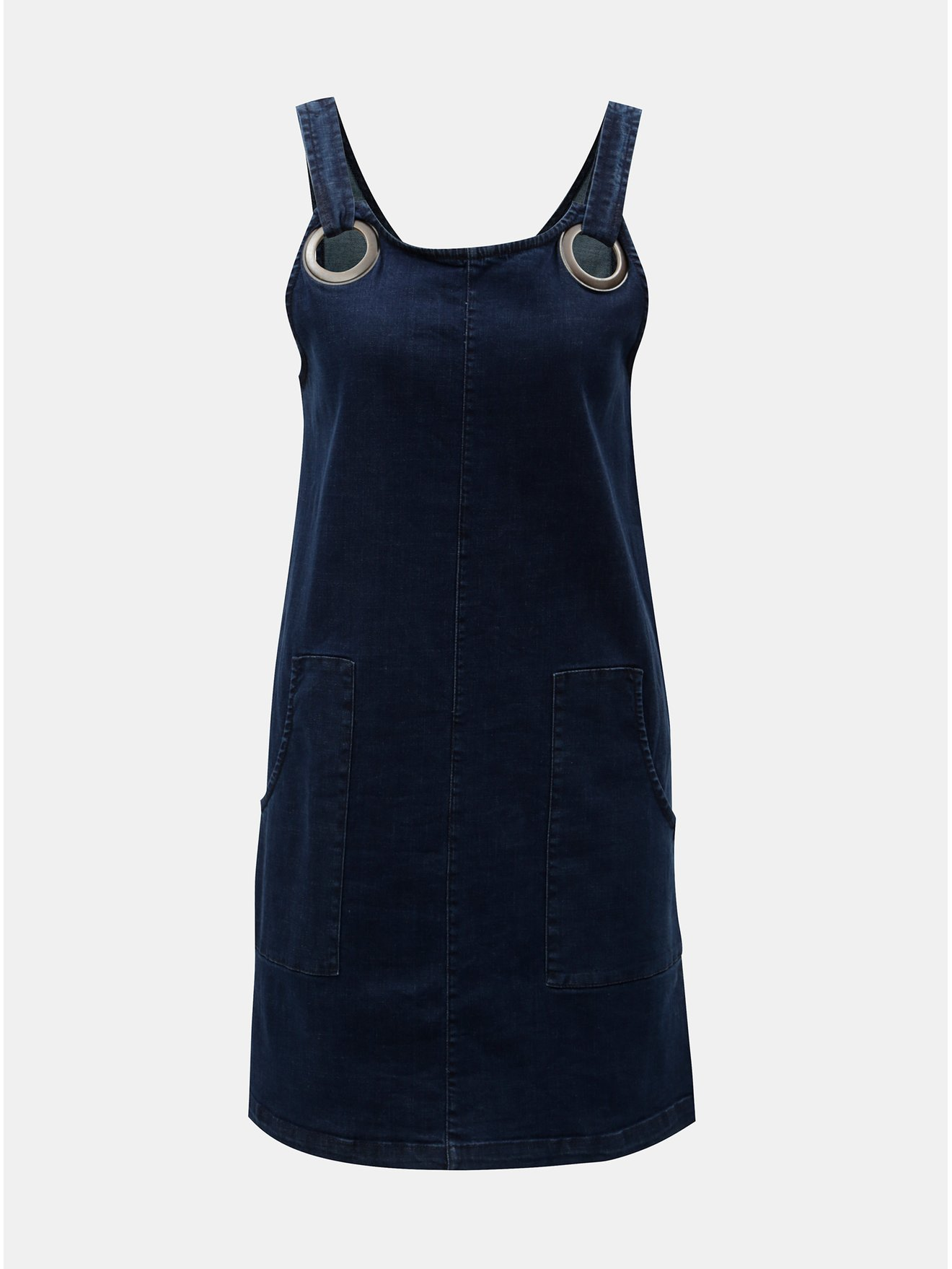 010f19e2df9 Tmavě modré džínové šaty Tranquillo Lethia