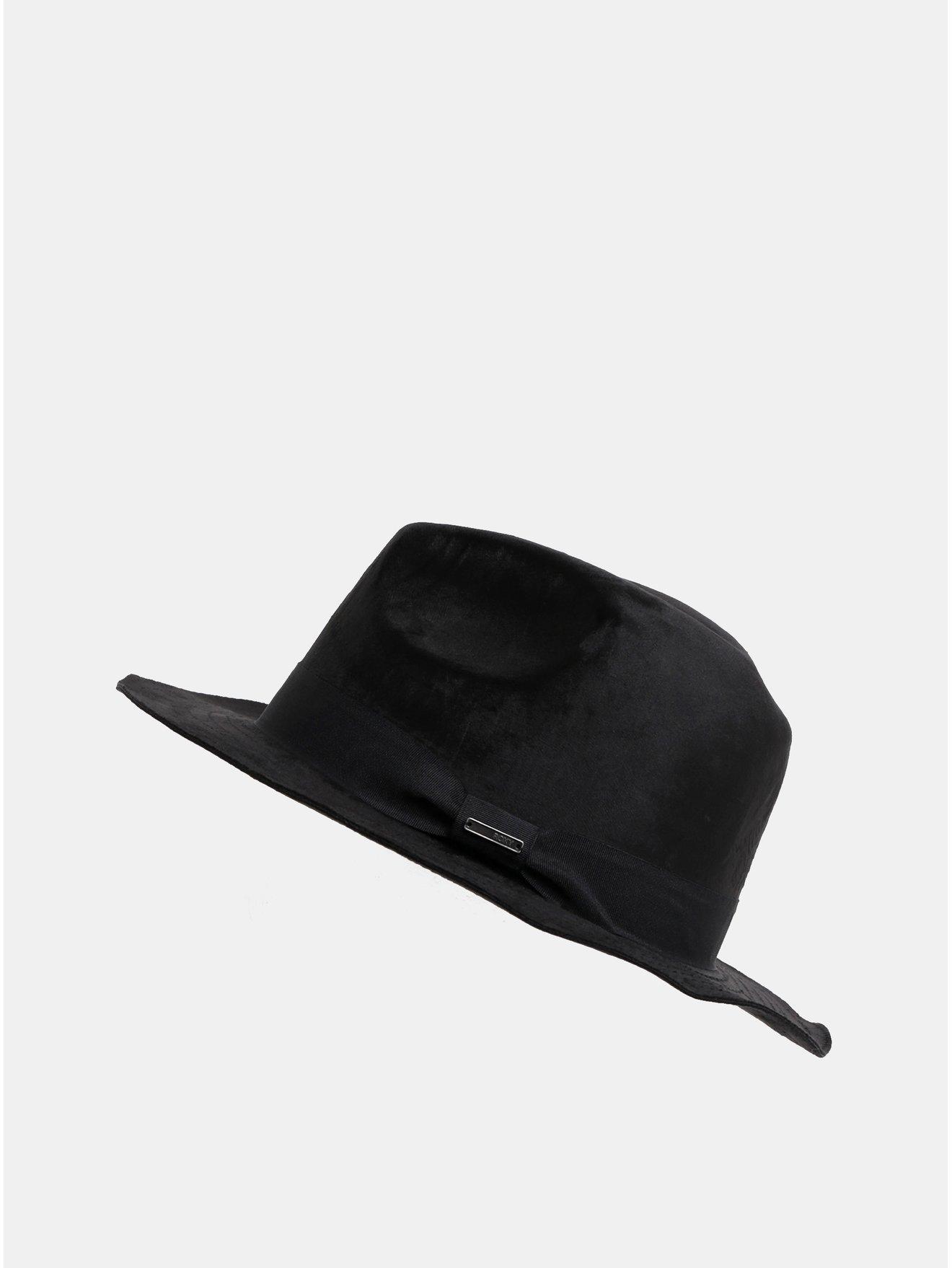 Černý dámský sametový klobouk Roxy Kind Of Love 9926a38b13