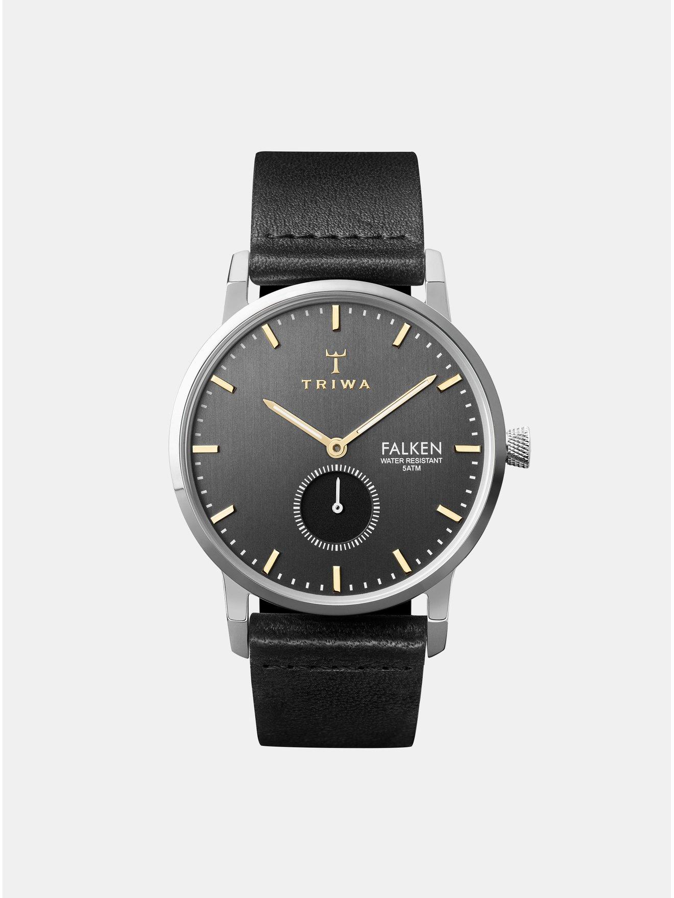 a929a9d50 Damske hodinky s cernym kozenym paskem levně | Blesk zboží