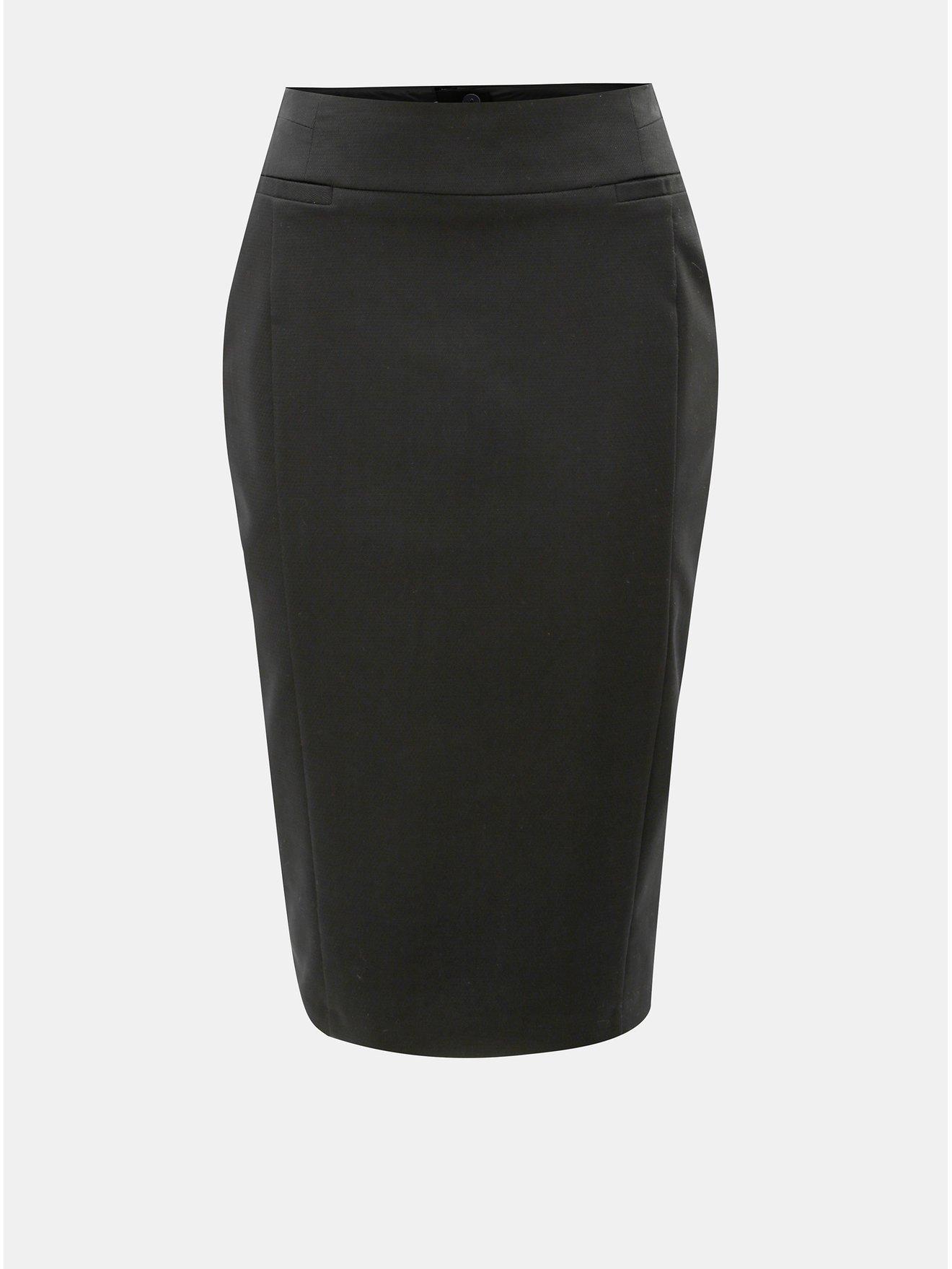 Černá pouzdrová sukně Dorothy Perkins a65f87a5eb