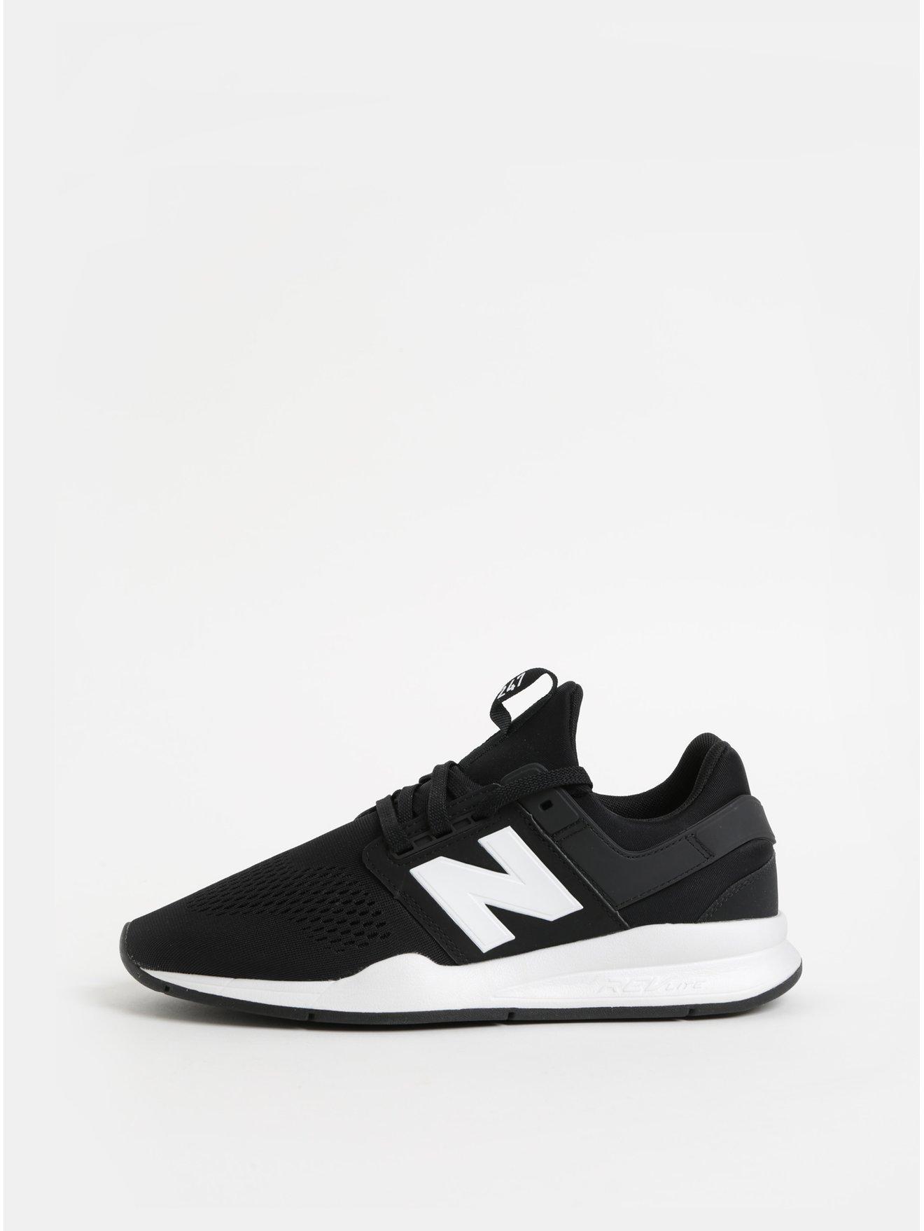Bílo-černé pánské tenisky New Balance 48aa4fe807