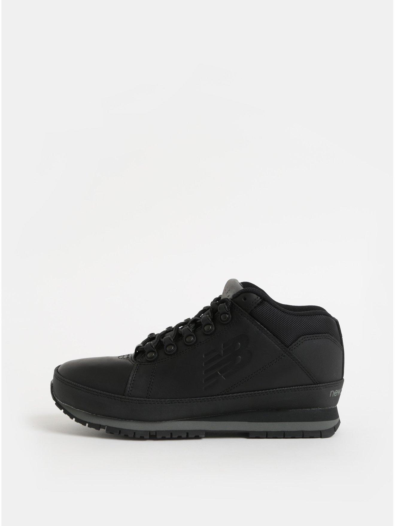 Černé pánské kožené kotníkové tenisky New Balance 4178a58e5c