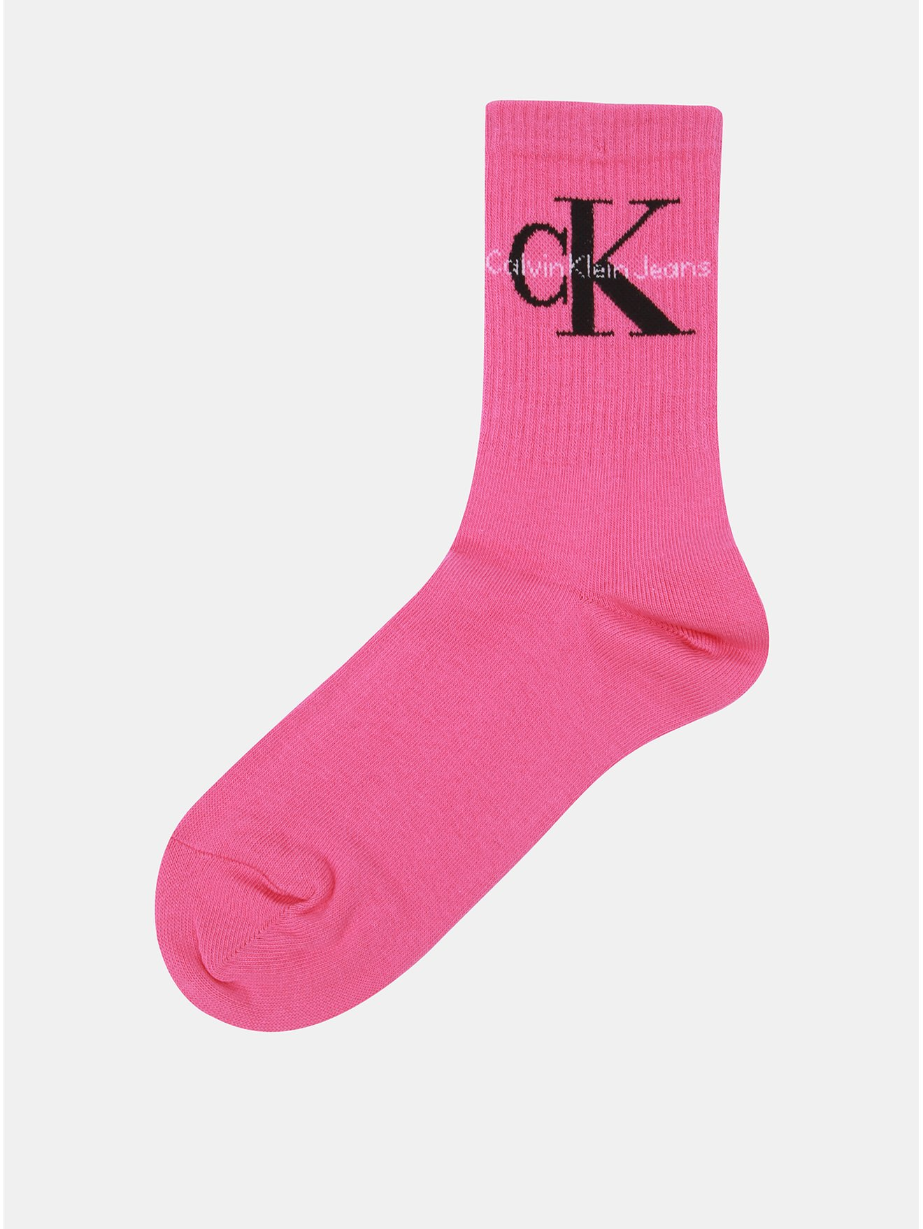 Růžové dámské ponožky Calvin Klein Jeans