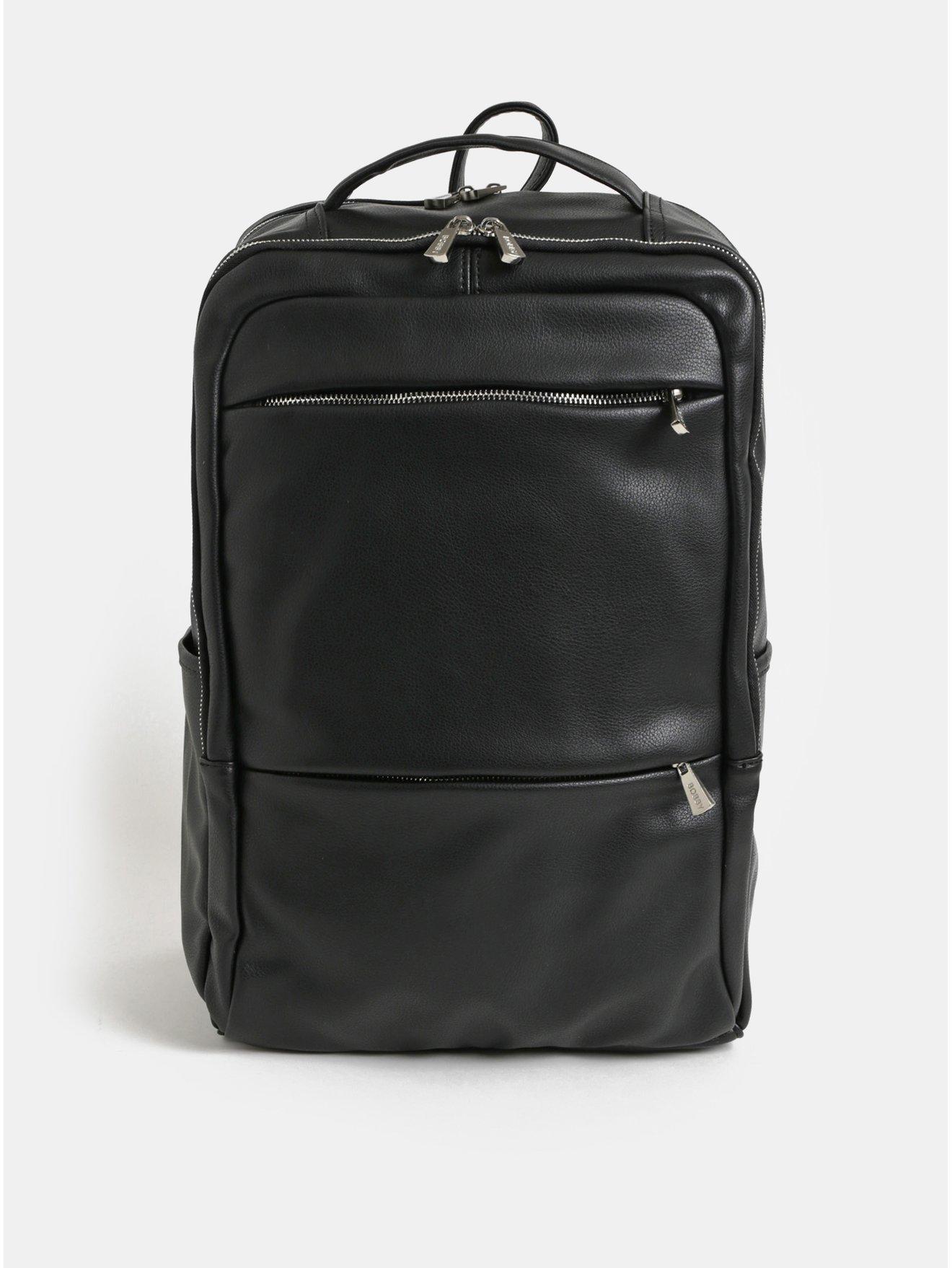 Černý batoh na notebook Bobby Black c3ee19d28e