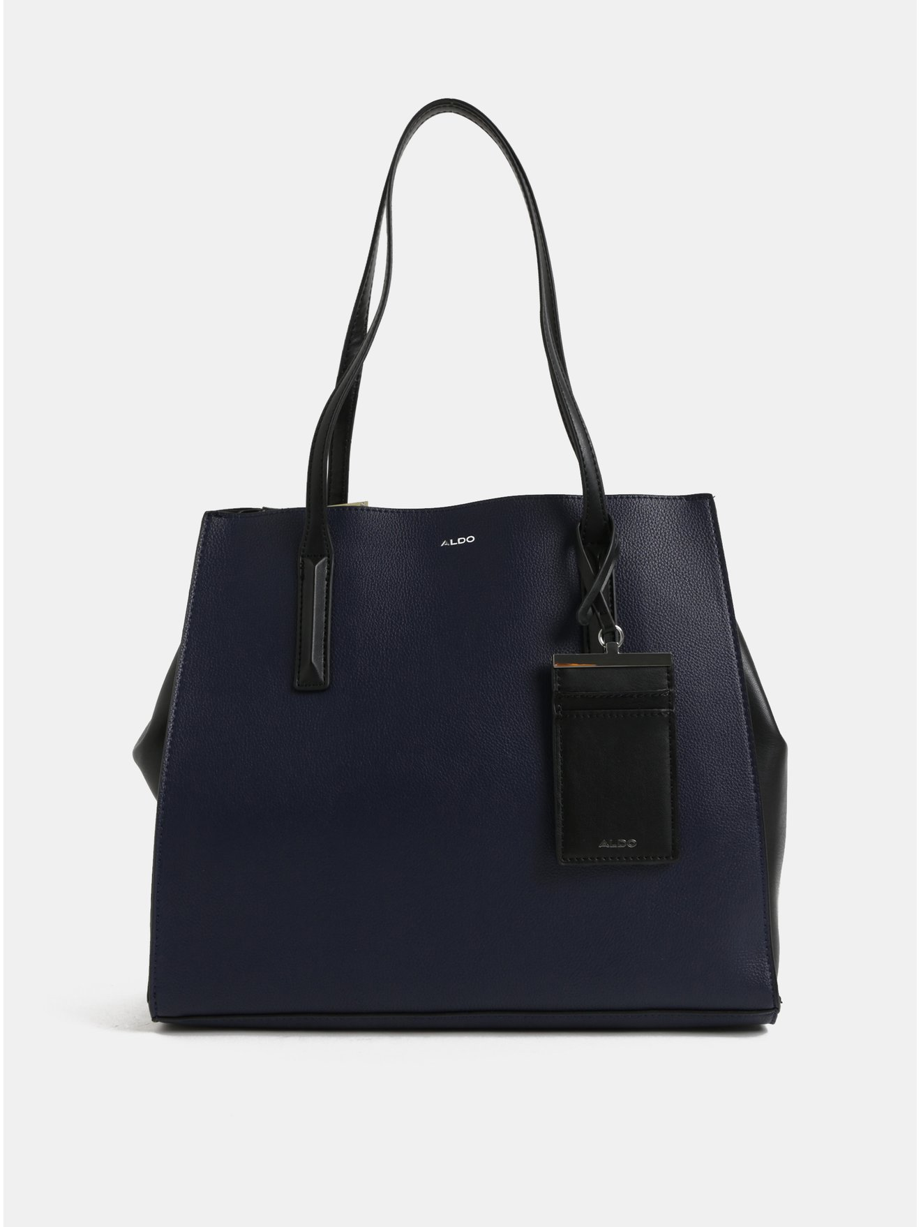 Tmavě modrá kabelka s pouzdrem na karty ALDO Falzon