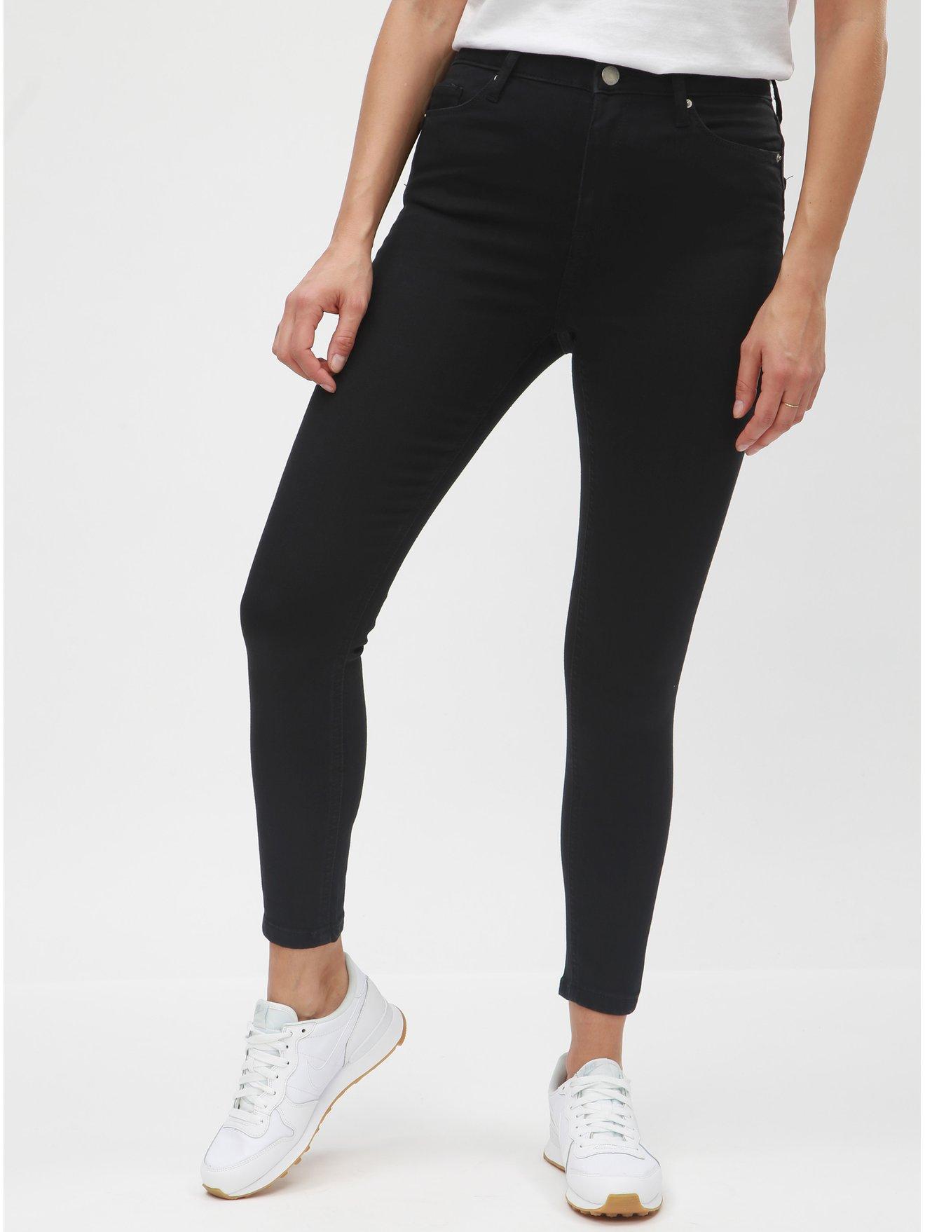 a1ea06648c0 Černé super skinny džíny Miss Selfridge lizzie