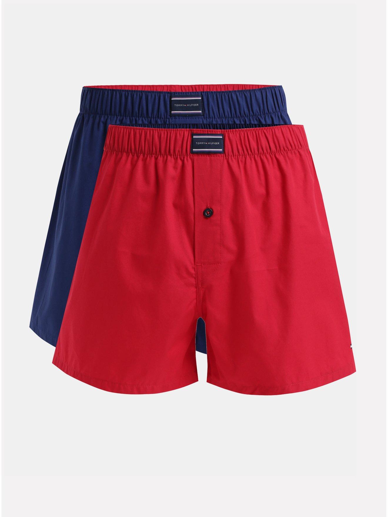 Sada trenýrek v červené a modré barvě Tommy Hilfiger 8c0387b714