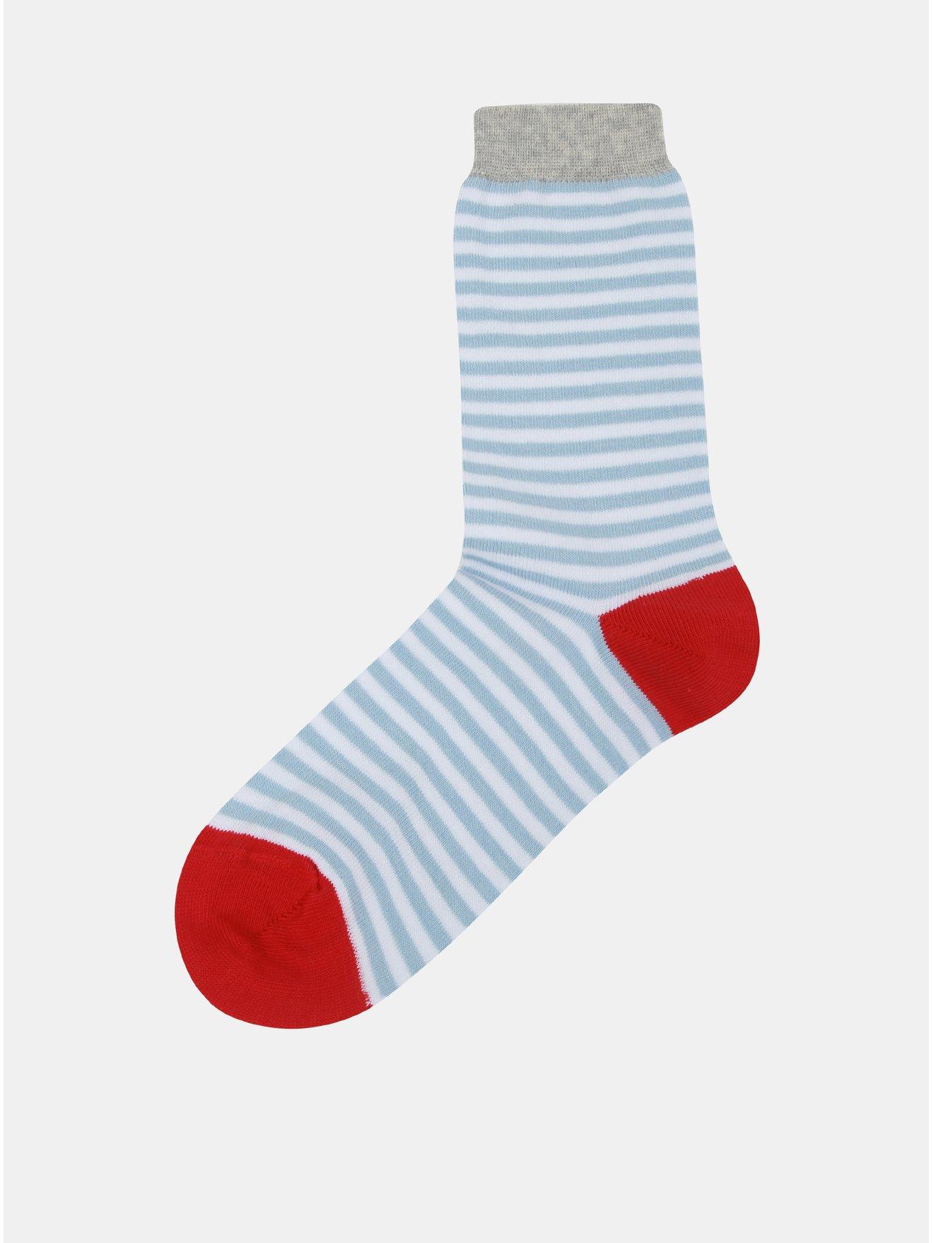 Modro-bílé dámské pruhované ponožky ZOOT 6da29ffcd9