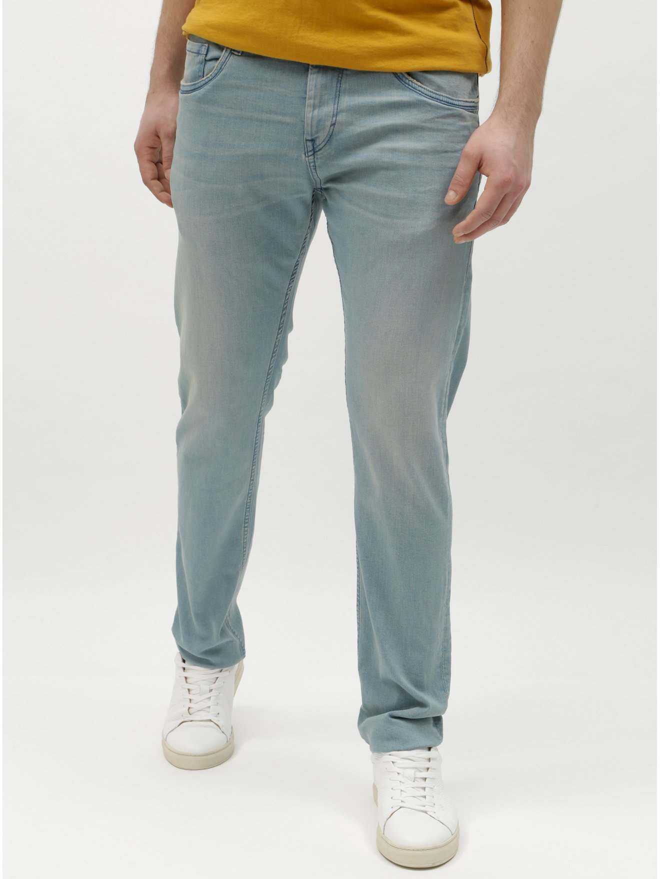 7146a997879 Světle modré pánské slim džíny Tom Tailor