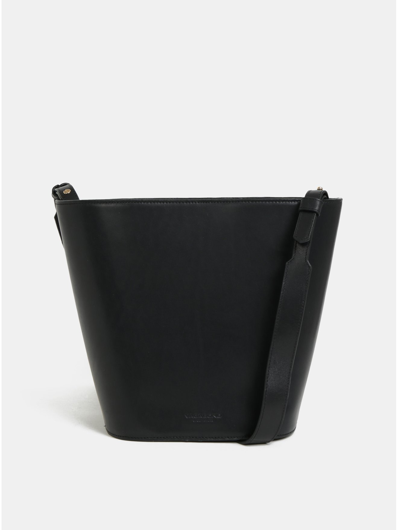 Černá kožená crossbody kabelka Vagabond Alabama