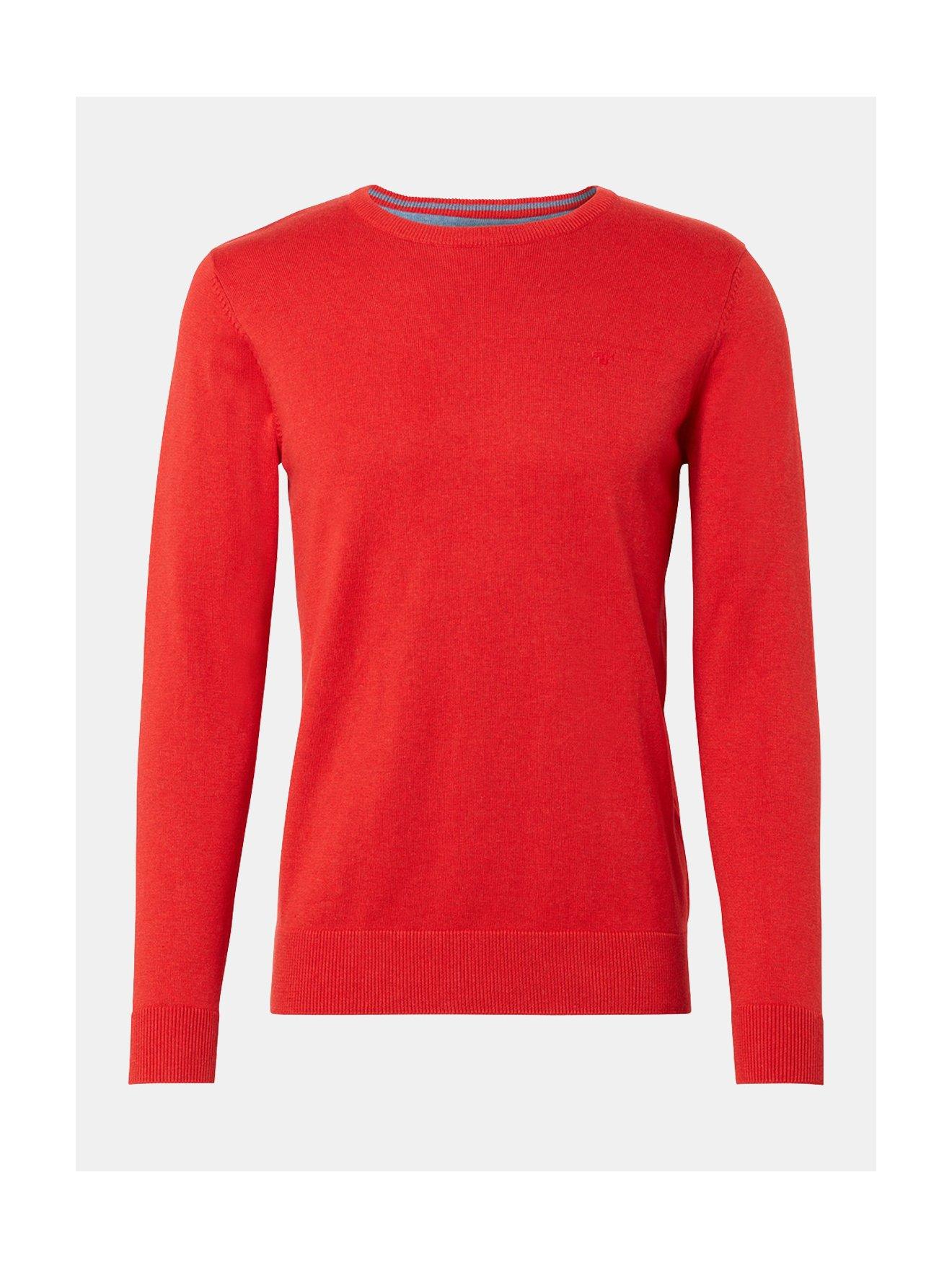 Červený pánský svetr Tom Tailor
