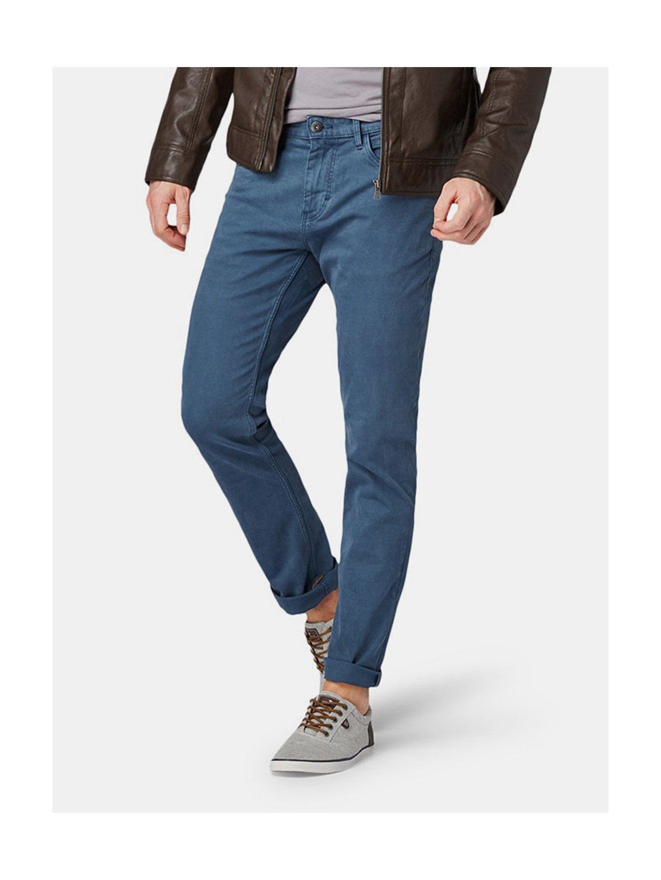 c43019ee81 Modré pánské slim fit džíny Tom Tailor