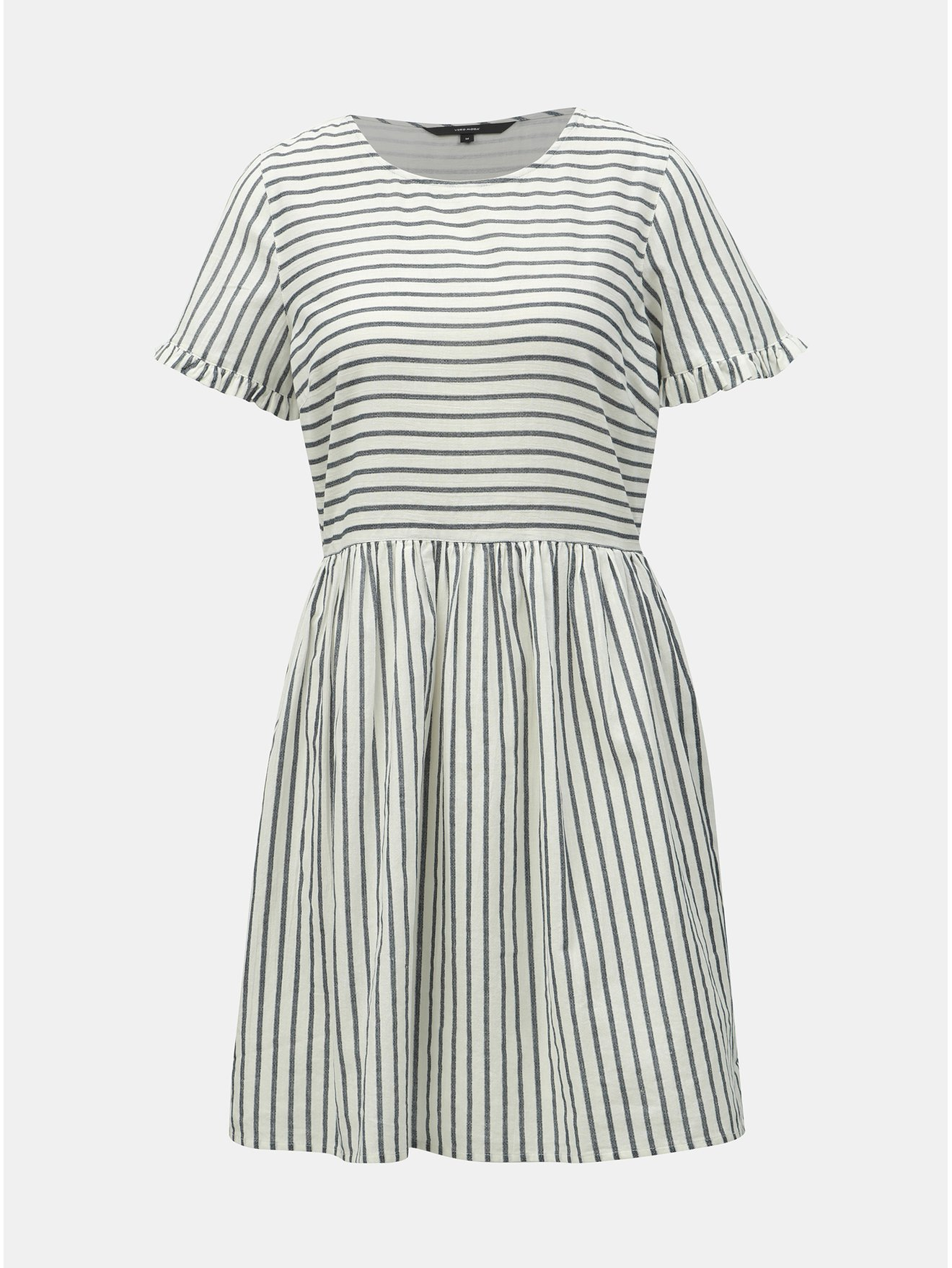 Modro-bílé pruhované šaty VERO MODA Coco