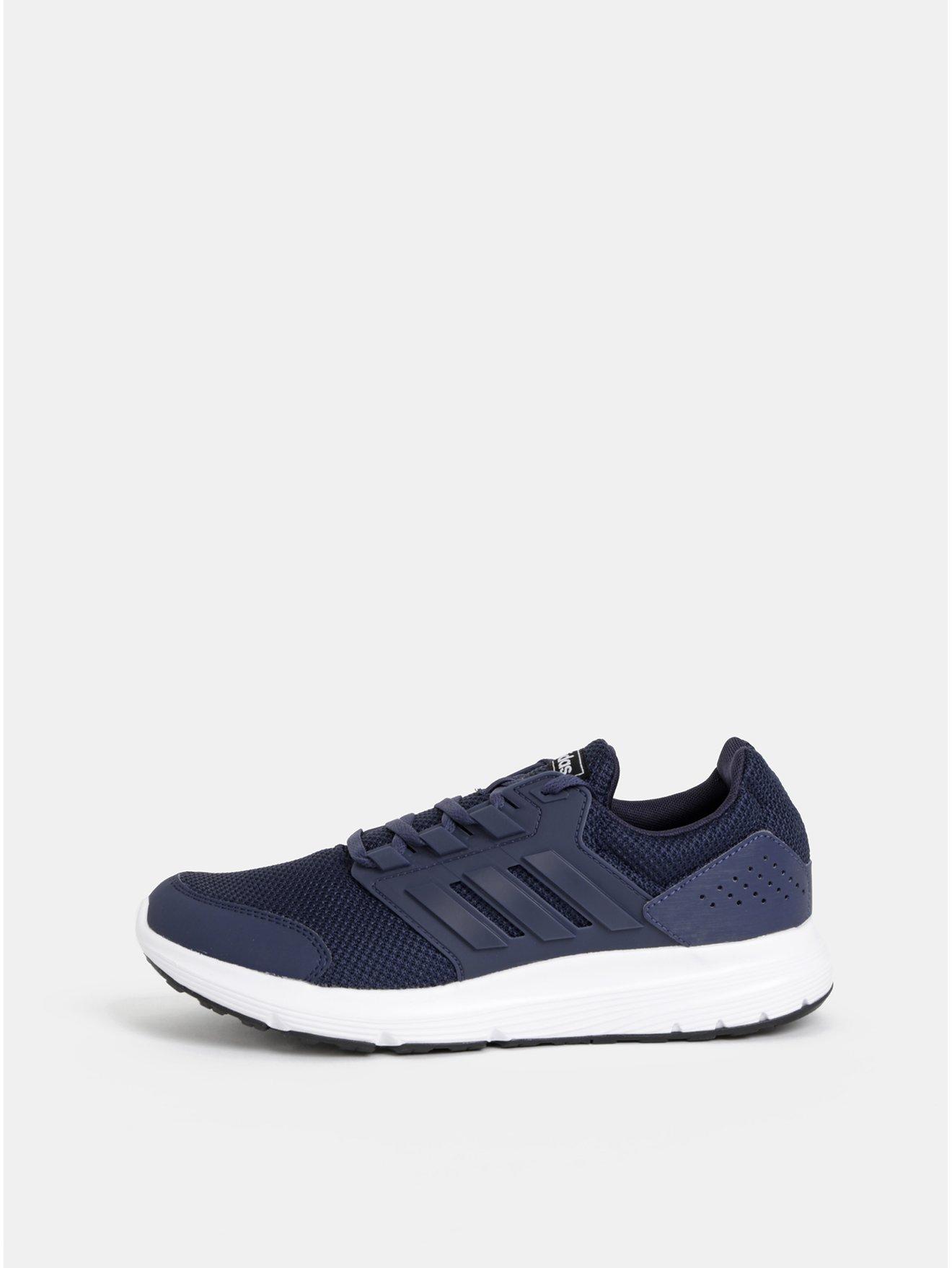 Tmavě modré pánské tenisky adidas CORE Galaxy 4