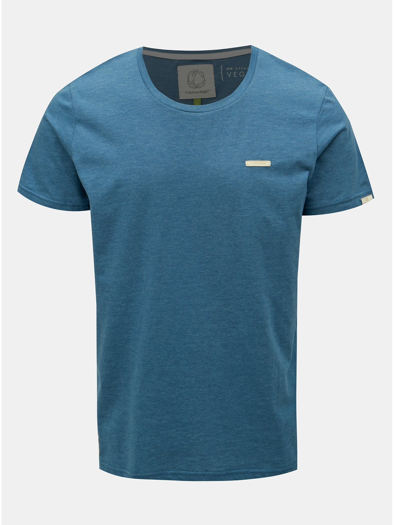 Modré pánské tričko Ragwear Paul Organic