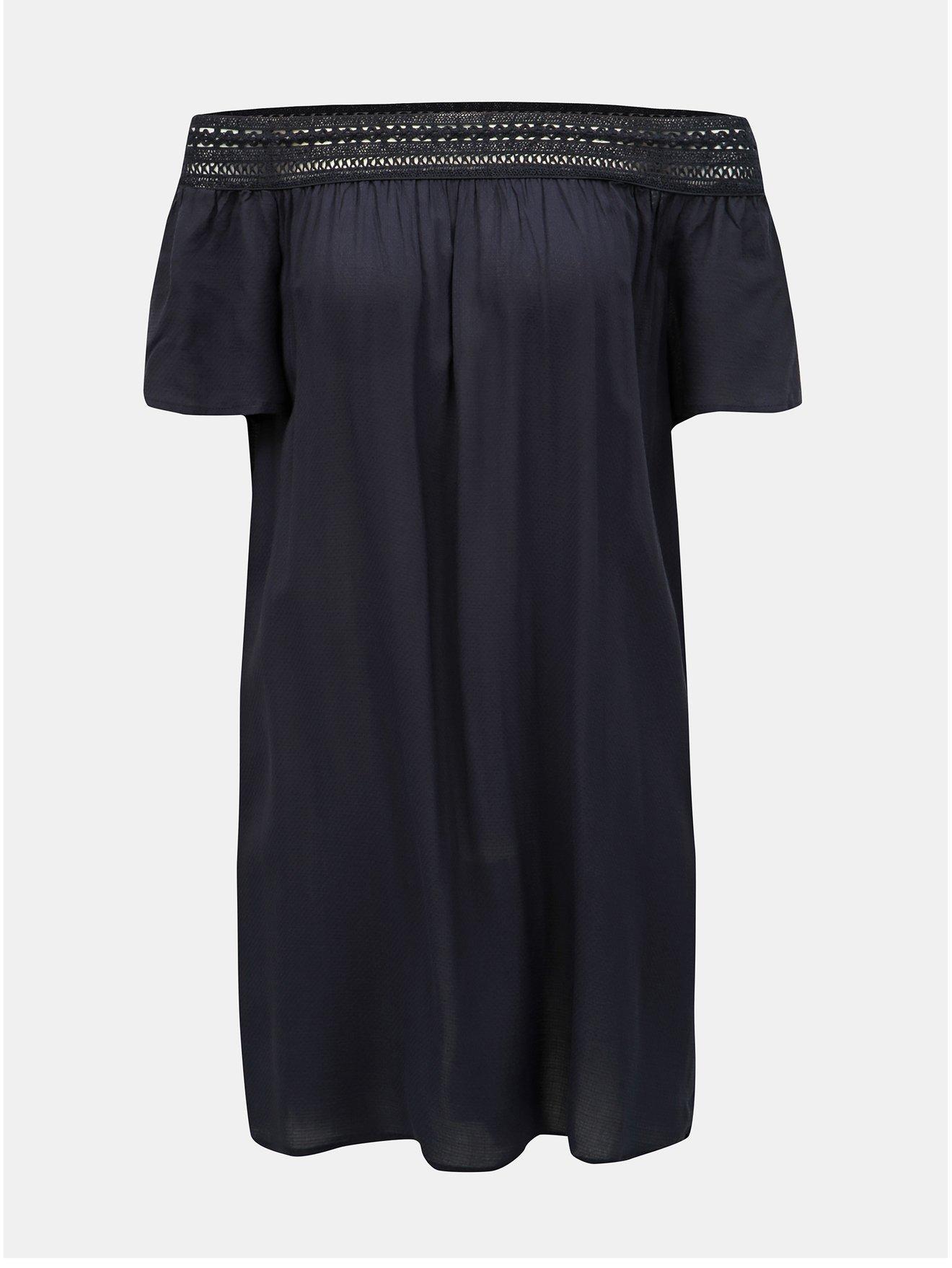 Tmavě modré šaty Jacqueline de Yong Famous
