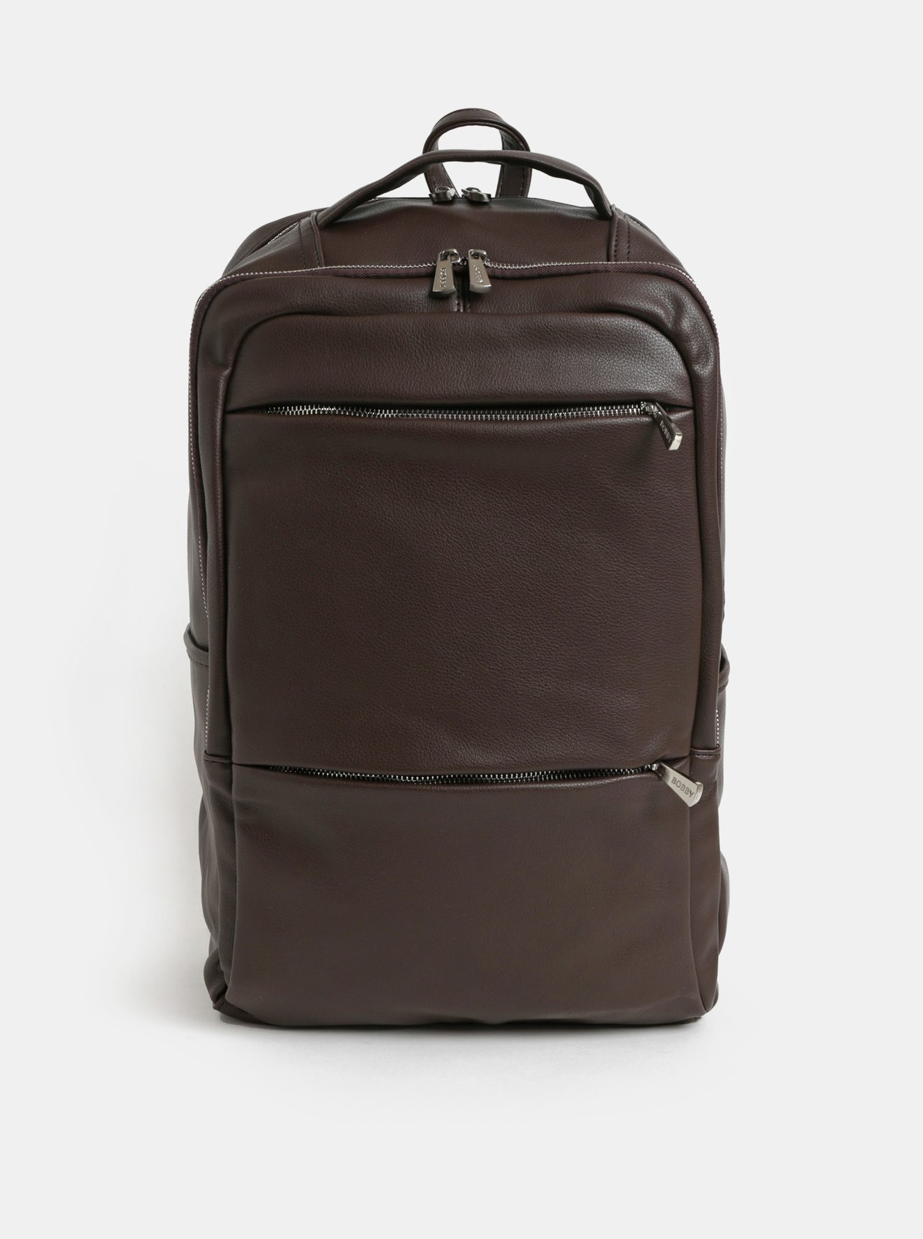 cf0aa75dfa Tmavě hnědý batoh na notebook Bobby Black