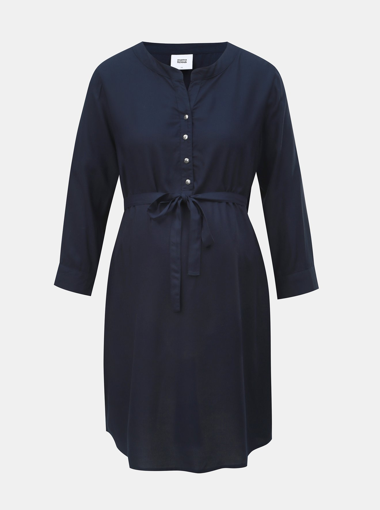 Tmavě modrá těhotenská tunika Mama.licious Mercy