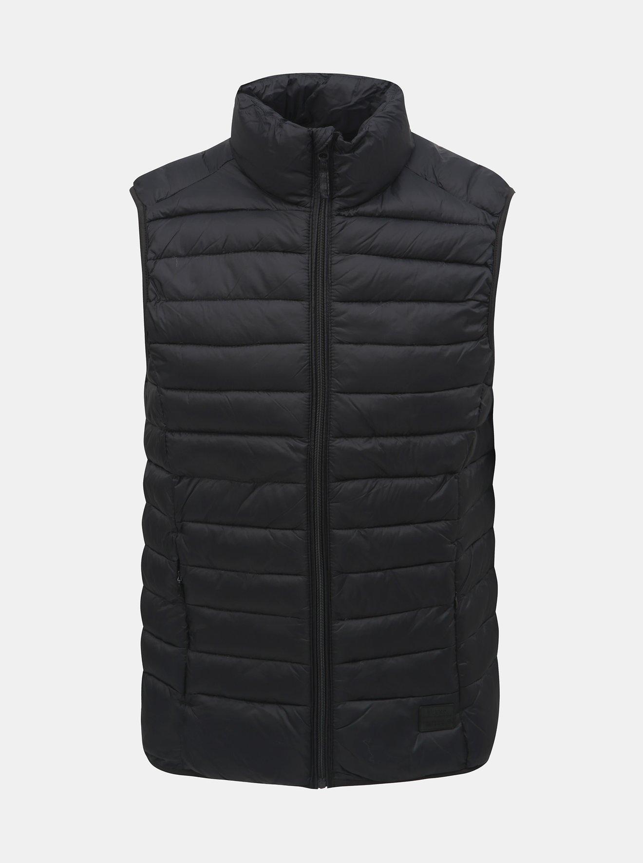 Černá prošívaná vesta Blend