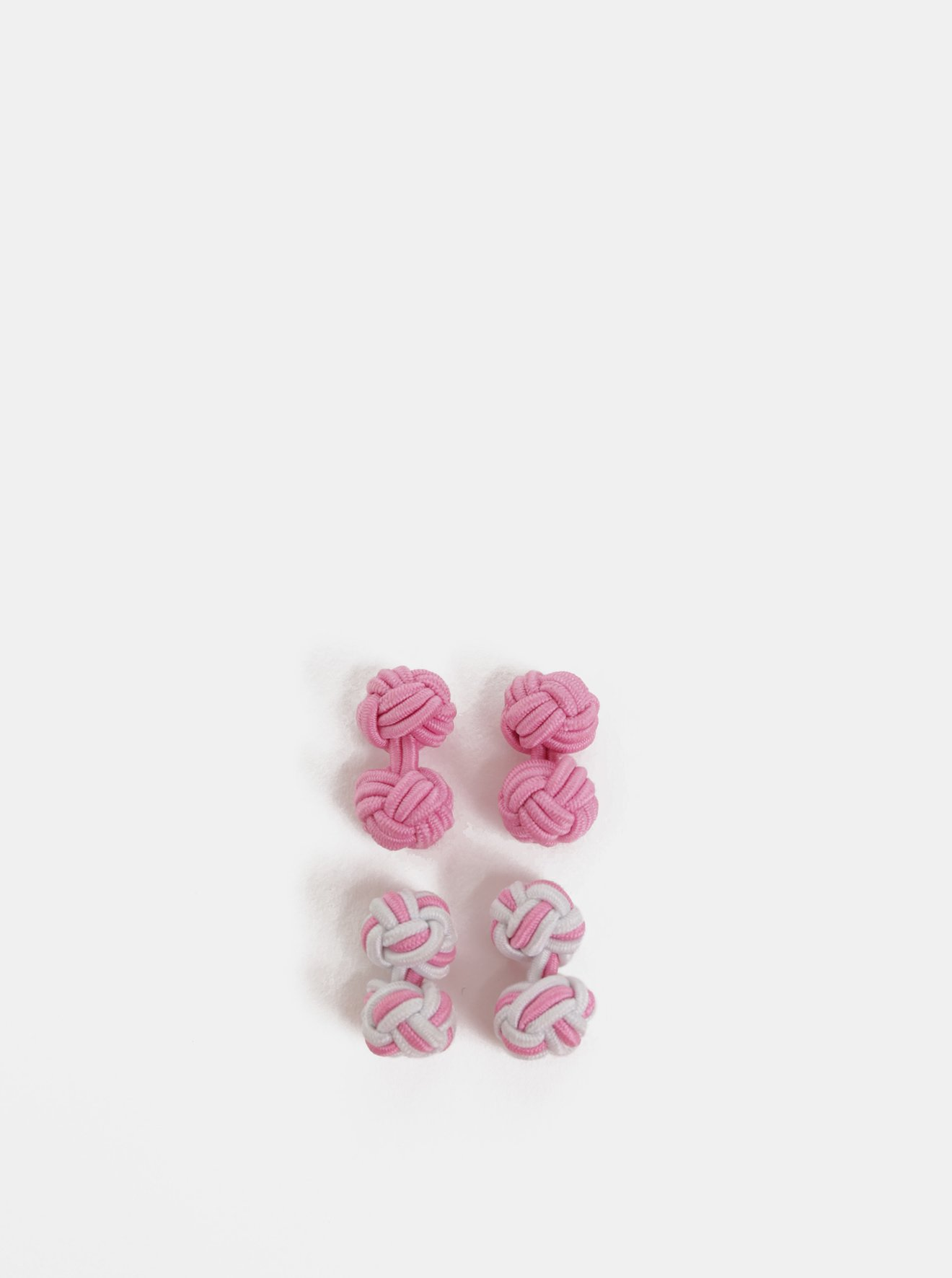 Růžové manžetové knoflíčky Burton Menswear London