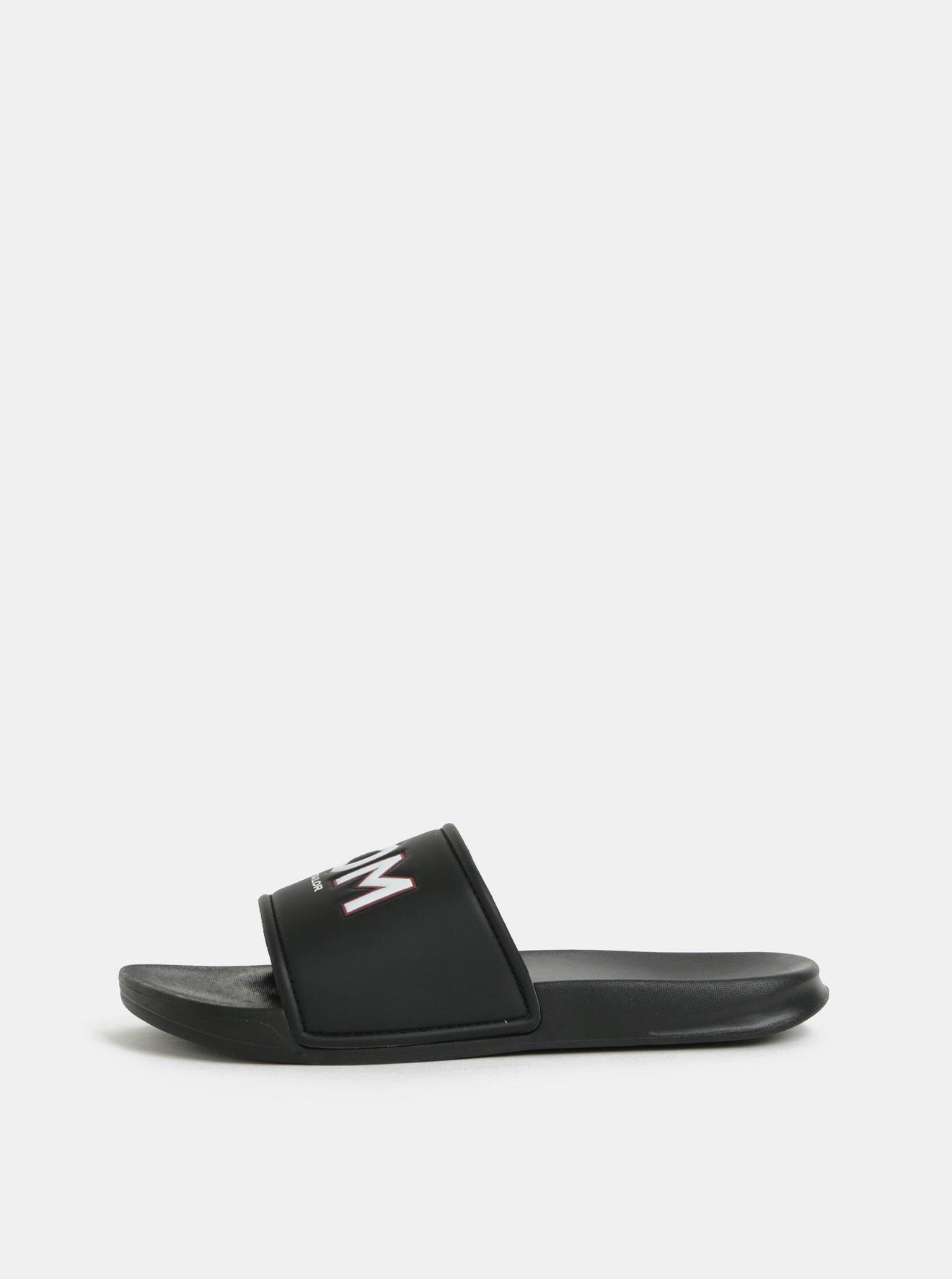 Černé pánské pantofle Tom Tailor