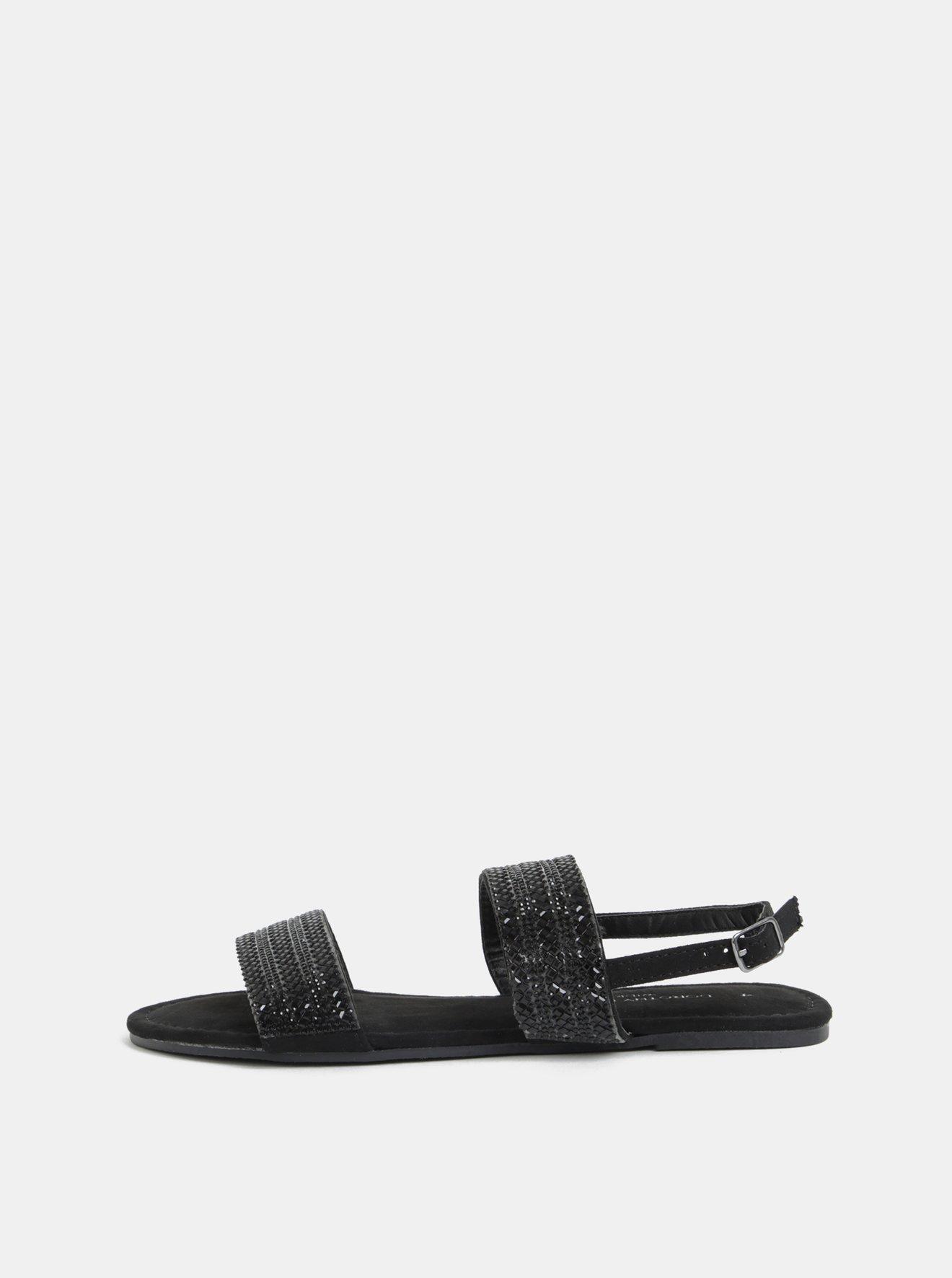 2a5680ec59 Černé sandály Dorothy Perkins