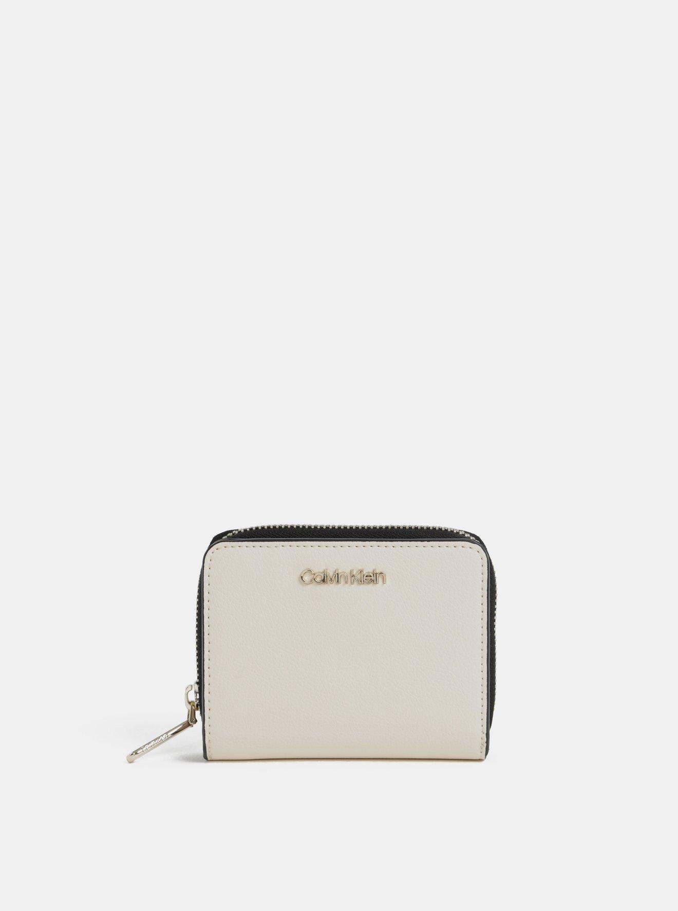 Béžová dámská peněženka Calvin Klein Jeans